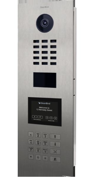 Video door intercom and video doorbell for iOS, Android, iPhone
